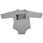star labs baby grey long sleeve